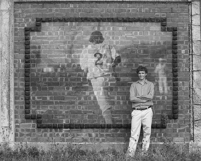 basebal_wall_bw
